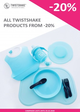 All Twistshake products from -20%