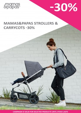 Mamas & Papas strollers and carrycots -30%