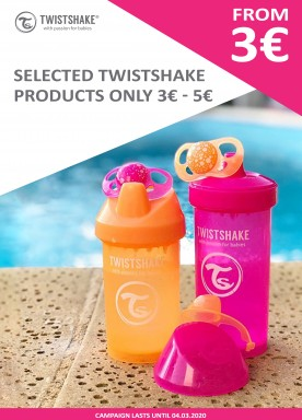 Twistshake products 3EUR and 5EUR