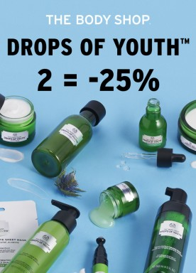 Drops of Youth™ products: 2= -25%