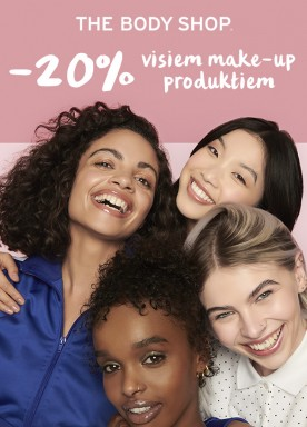 20% off on all make-up products