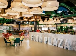 Latvia's biggest food court opens in Riga Plaza after the mall's reconstruction