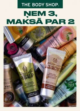 Hand creams: 3 for 2