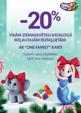 Toys from Toy`s Planet Christmas catalog -20%!