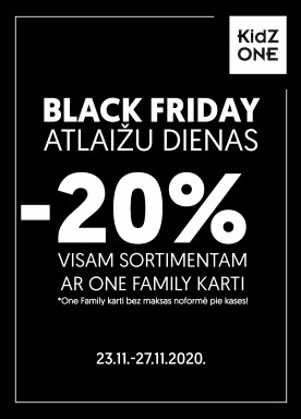 -20% discount for all!
