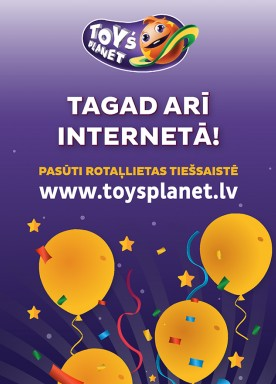 Toy`s Planet now available online!