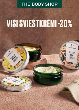 All body butters 20% off